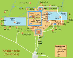 Plan des Temples