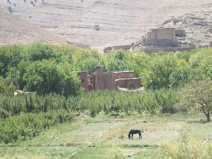 Paysage pittoresque au Maroc