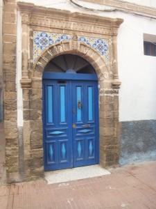 Porte bleue Essaouira - GlobAlong