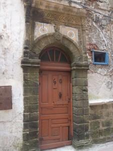Porte marron Essaouira