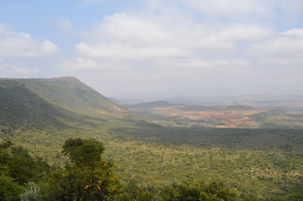 Globalong paysages Kényans