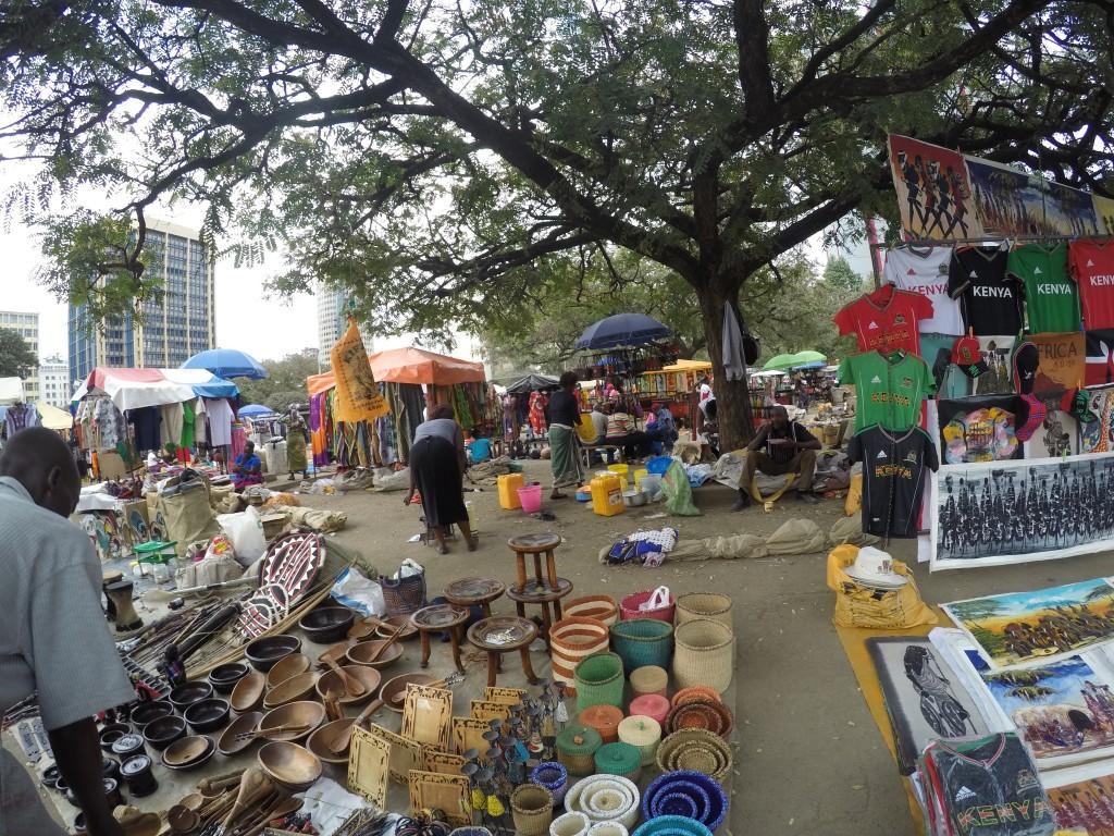 Bénévolat Globalong shopping marché
