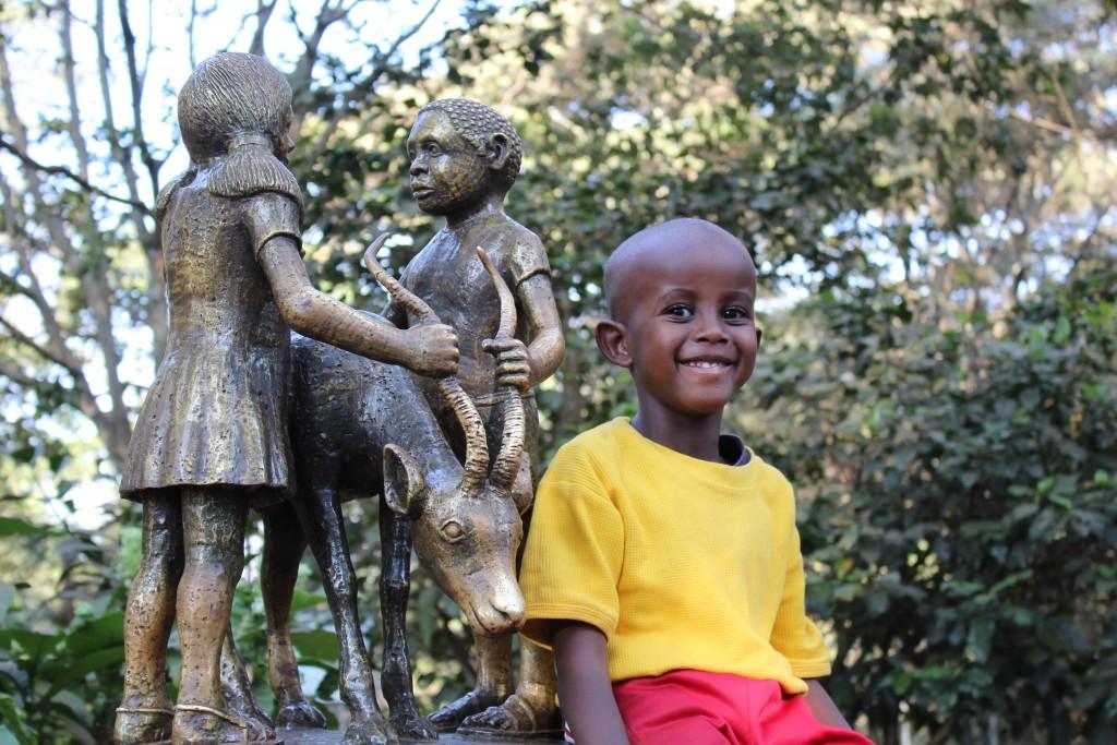 jeune Kenyan Globalong afrique